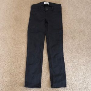 Abercrombie kids girls gray pants/jeans. NWOT